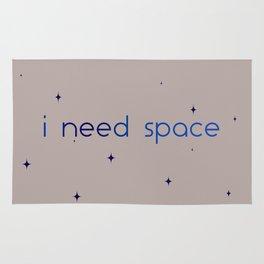 i need space Rug