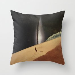 Lost In Your Memories Throw Pillow
