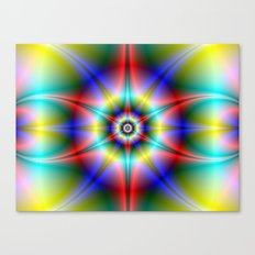 Star Halo Canvas Print