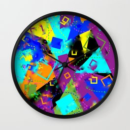 Vague Clarity Wall Clock