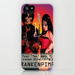Frankenpimp (2009) - Movie Poster iPhone Case