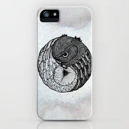 Yin Yang Owls iPhone Case