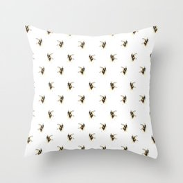 Bumblebee pattern Throw Pillow