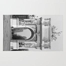 Vintage Dewey Arch Photograph (1900) Rug