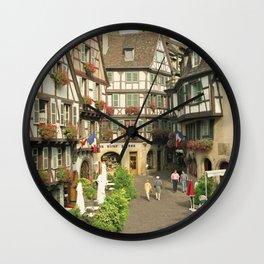 Alsace - Colmar Wall Clock