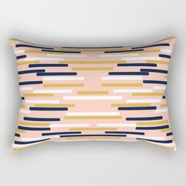 Britt - Modern pattern design perfect cell phone gift for trendy modern college dorm room decor Rectangular Pillow