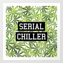 Serial Chiller Art Print