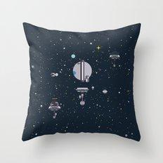 M - Triton Throw Pillow