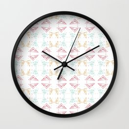 Fragmented Delights Wall Clock