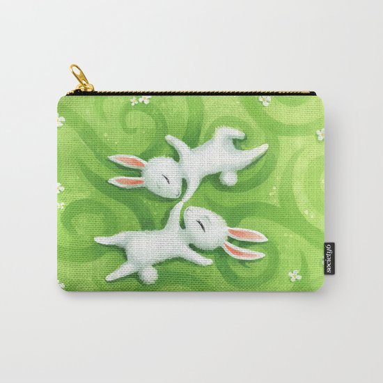 Fluffy Summer Carry-All Pouch