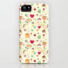 Cake Pattern iPhone Case
