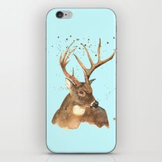 Ice Reindeer iPhone & iPod Skin