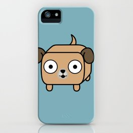 Pitbull Loaf - Fawn Pit Bull with Floppy Ears iPhone Case