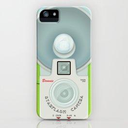 VINTAGE CAMERA GREEN iPhone Case