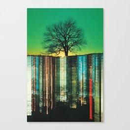 Green Suicide Canvas Print