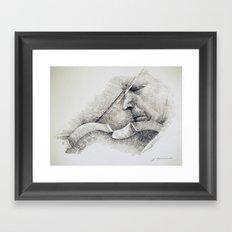 WAVES OF RESONANCE Framed Art Print