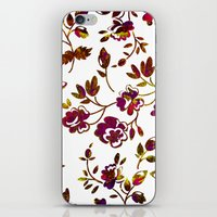 rose gold iPhone & iPod Skins featuring Rose Gold by Stevyn Llewellyn