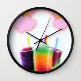 FROZEN BRAIN Wall Clock