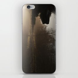 Foggy Morning in the Forest iPhone Skin
