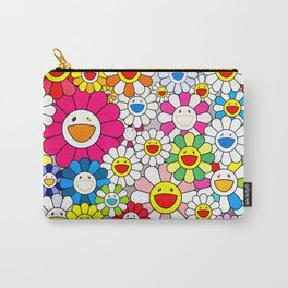 Takashi Murakami - Flowers Carry-All Pouch