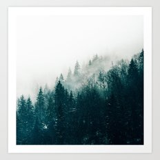 The Silent Forest #society6 #decor #buyart Art Print
