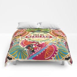 La Vida del MEXICANO Comforters
