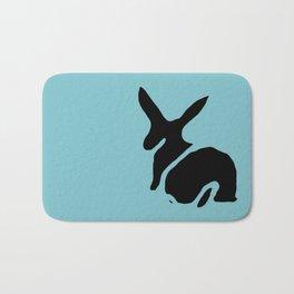 Rabbit Stamp Bath Mat