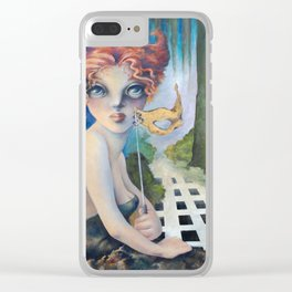 The Masquerade, Lucia Clear iPhone Case