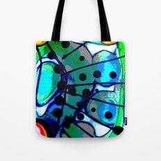 Abstract Explotion Tote Bag