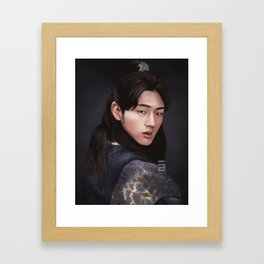 Wang Jung Framed Art Print