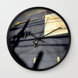 Paved With Good Intentions Wall Clock