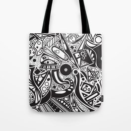 #doodles Tote Bag