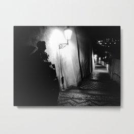 Nocturne Photograph - Prague, 20. Metal Print