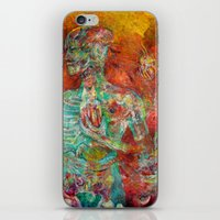 biology iPhone & iPod Skins featuring Synthetic Biology by Lennon Michalski