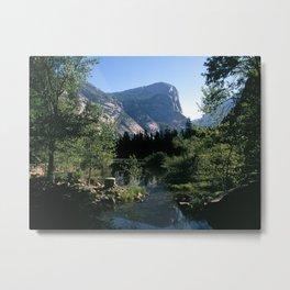 North Dome in Yosemite Metal Print