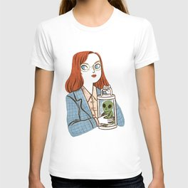 Dana Scully, Patron Saint of Nerds T-shirt