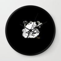 sublime Wall Clocks featuring Sublime by The Groove Pocket