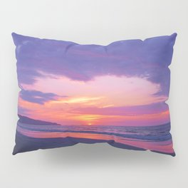 Broken sunset by #Bizzartino Pillow Sham