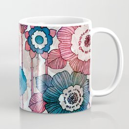Hanging Flower Garland Coffee Mug