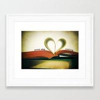 read Framed Art Prints featuring Read by Lawson Images