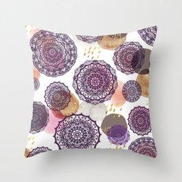 Fall Love Mandalas Throw Pillow