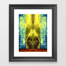 ETHER NET Framed Art Print