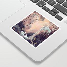 Barfing Unicorn Sticker
