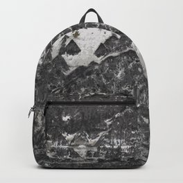 Grunge old vintage wall Backpack