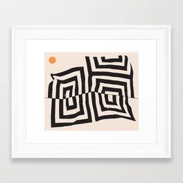 Mountain Birth Framed Art Print
