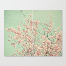 Blossom Diptych Canvas Print