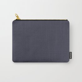 Monochrome collection Gray Carry-All Pouch