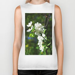 Apple blossom Biker Tank