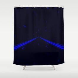 Lightspeed Shower Curtain