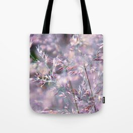 colourful grasses Tote Bag